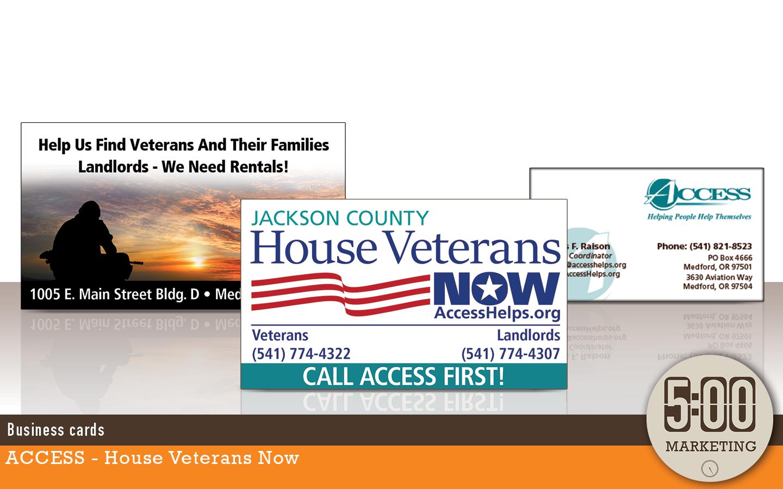 Campaign: ACCESS House Veterans - 5oclock Marketing