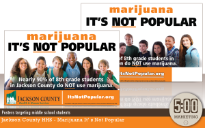 Posters targeting middle school students