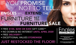 Engles Furniture National Sale