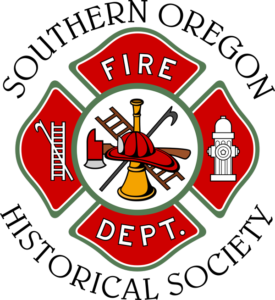 Logo: Southern Oregon Historical Society Fire Dept.